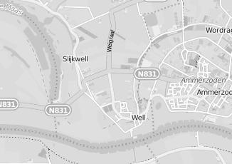 Kaartweergave van Genderen in Well Gelderland