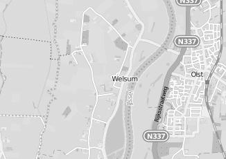 Kaartweergave van Albert heijn in Welsum
