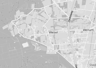 Kaartweergave van Slijter in Wenum Wiesel