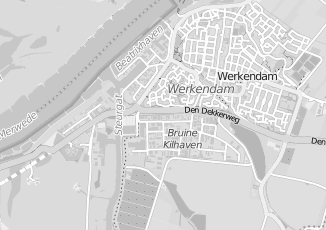 Kaartweergave van Oord in Werkendam
