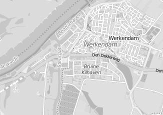 Kaartweergave van Kant in Werkendam