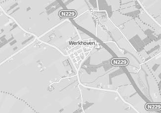 Kaartweergave van Bouwmarkt in Werkhoven
