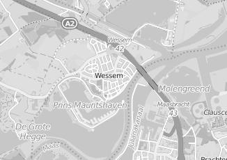 Kaartweergave van Joosten in Wessem
