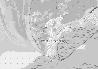 Kaartweergave van Kooijman groothandel in West Terschelling