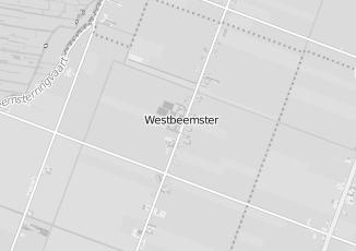 Kaartweergave van Bank in Westbeemster