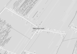 Kaartweergave van Ribw alliantie in Westbroek