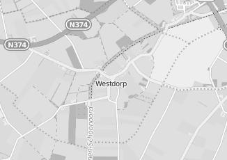Kaartweergave van Kaaswinkel in Westdorp