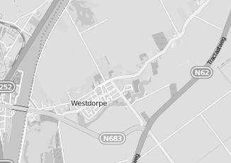Kaartweergave van Caudron in Westdorpe