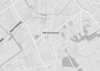 Kaartweergave van Bank in Westerbeek