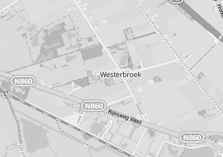 Kaartweergave van Milieustraat in Westerbroek