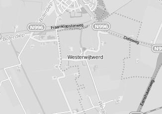 Kaartweergave van Slopen in Westerwijtwerd