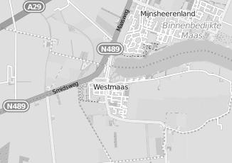 Kaartweergave van Jumbo in Westmaas