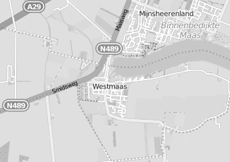 Kaartweergave van Van gent in Westmaas
