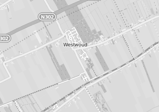 Kaartweergave van Verloskundige in Westwoud