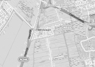 Kaartweergave van Jahn in Westzaan