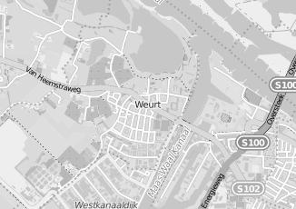 Kaartweergave van Bioscoop in Weurt