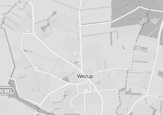 Kaartweergave van Groothandel in meubels in Wezup