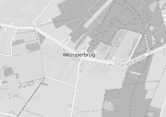 Kaartweergave van Dijkstra in Wezuperbrug