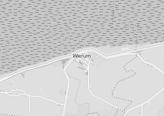 Kaartweergave van Midlum j van in Wierum