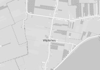 Kaartweergave van Albert heijn in Wijdenes