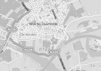 Kaartweergave van Dorp in Wijk Bij Duurstede