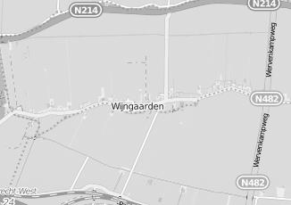 Kaartweergave van Hypotheek in Wijngaarden