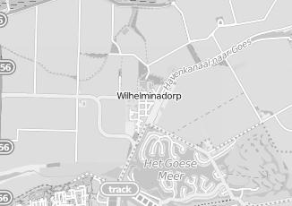 Kaartweergave van Dalebout in Wilhelminadorp