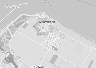 Kaartweergave van Inrichtingen in Willemstad