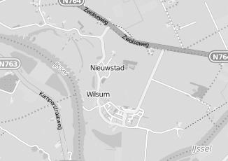 Kaartweergave van Bos in Wilsum