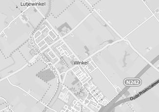 Kaartweergave van Fokker in Winkel