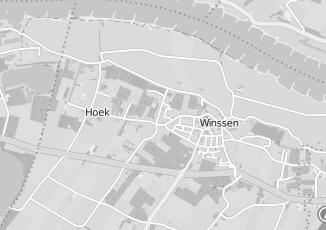Kaartweergave van Beijnum in Winssen