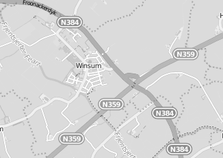 Kaartweergave van Verloskundige in Winsum Friesland