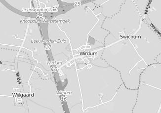 Kaartweergave van Kuperus in Wirdum Friesland