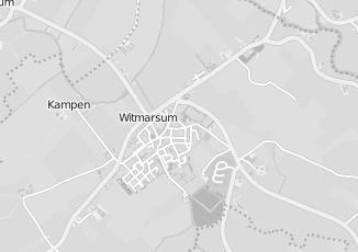 Kaartweergave van M herrema in Witmarsum