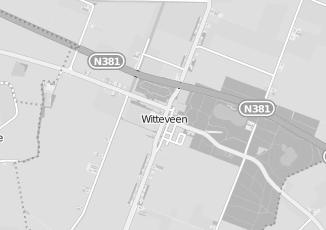 Kaartweergave van N kramer in Witteveen