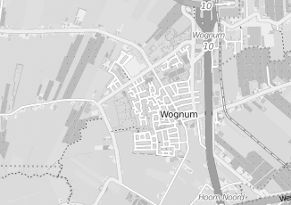 Kaartweergave van Blauw in Wognum