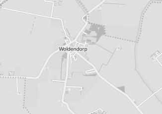 Kaartweergave van Kaaswinkel in Woldendorp