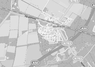 Kaartweergave van Bakker in Wolfheze