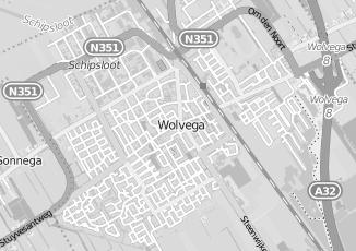 Kaartweergave van Menger in Wolvega