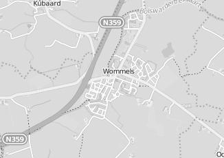 Kaartweergave van Milieustraat in Wommels