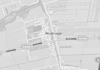 Kaartweergave van Hoogendoorn in Woubrugge