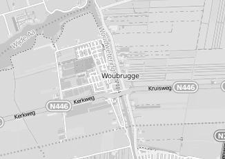 Kaartweergave van Hoogeveen in Woubrugge