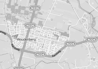 Kaartweergave van Bosman in Woudenberg