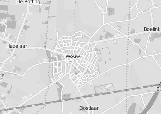 Kaartweergave van Bruijn in Wouw
