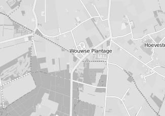 Kaartweergave van Albert heijn in Wouwse Plantage