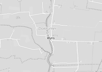 Kaartweergave van Detailhandel in Wyns