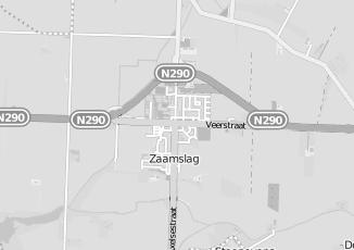 Kaartweergave van Lensen in Zaamslag