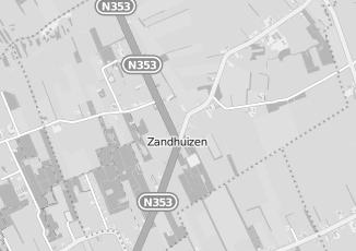 Kaartweergave van Supermarkt in Zandhuizen