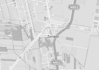 Kaartweergave van Supermarkt in Zandpol