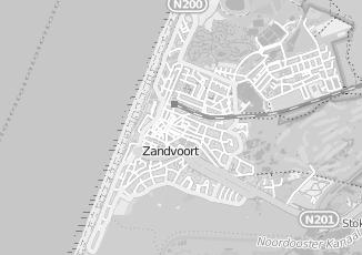 Kaartweergave van Bosman in Zandvoort